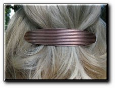 Copper Hair Barrette #3957C1