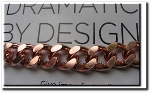 Men's 8 1/2 Inch Solid Copper Bracelet CB623G  - 1/2 an inch wide - Thick.