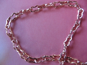 Solid Copper Anklet CA830G - 3/16 of an inch wide - Available in 8 to 12 inch lengths
