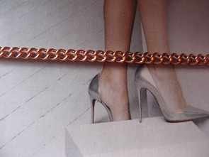 Solid Copper Anklet CA648G - 3/16 of an inch wide - Available in 8 to 12 inch lengths