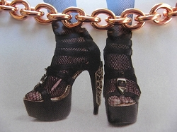 Solid Copper Anklet CA715G- 5/16 of an inch wide - Available in 8 to 12 inch lengths.