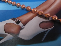 Solid Copper Anklet CA717 -6mm wide - Available in 8 to 12 inch lengths.