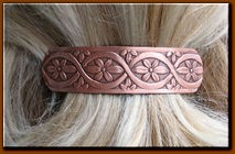 Copper Hair Barrette #4645C3
