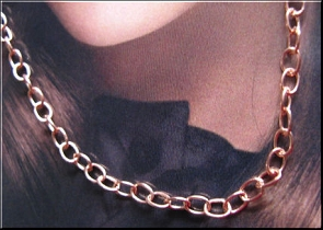 Copper Plated Chain CPC181-16 Inches Long - Very Thin & Light
