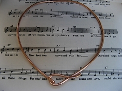 Copper Choker 134J