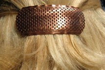 Copper Hair Barrette #4468C1