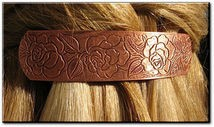 Copper Hair Barrette #4631C3