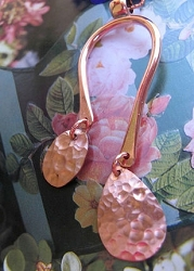 Copper Pendant and Chain Set #1097E
