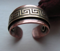 Adjustable Copper Ring 0893M3
