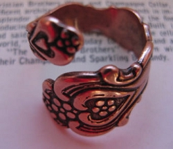 Adjustable Copper Ring 1795C3
