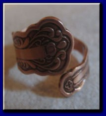 Adjustable Copper Ring 923C2