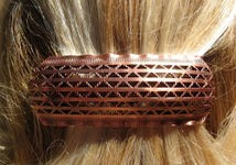Copper Hair Barrette #4468C3