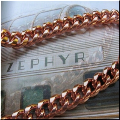 22 inch Length Solid Copper Chain CN694G - 5/16  of an inch wide