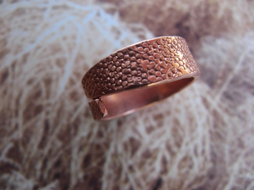Adjustable Solid Copper Ring HH5-8