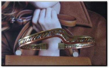 Women's 8 Inch Copper, Nickel and Brass Cuff Bracelet CCB905- 1/4 of an inch wide