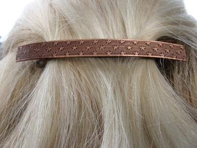 Copper Hair Barrette #9545C