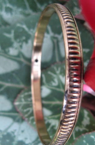 Brass Bangle Bracelet BB18