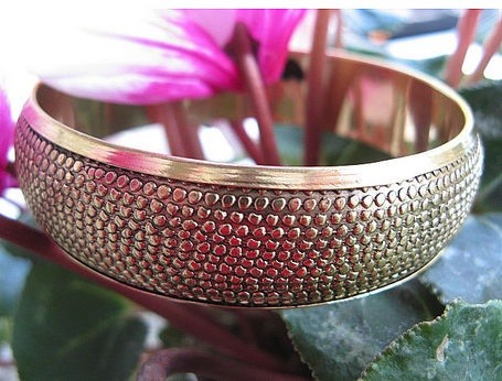 Brass Bangle Bracelet BB2