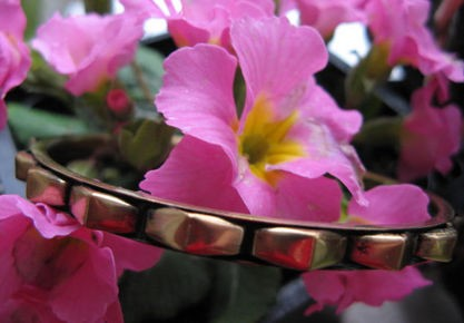 Brass Bangle Bracelet BB29