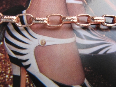 Solid Copper Anklet CA724 - 3/16 of an inch wide - Available in 8 to 12 inch lengths