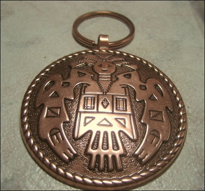 Copper Key Chain CKC6494C
