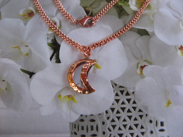 Copper Pendant and Chain Set #254AR