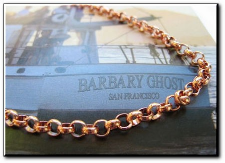 Solid Copper 7 inch Bracelet CB637G- 3/16 of an inch wide