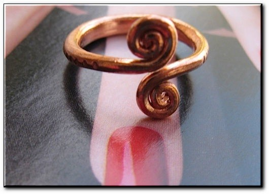 Adjustable Copper Ring  HH26-7