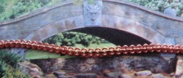Copper Plated Chain CPC299 - 18 Inches Long - Very Thin & Light