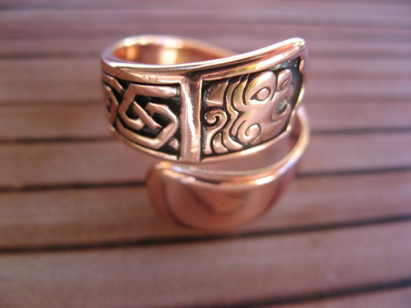 Adjustable Copper Ring CTR1306