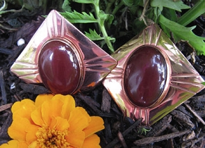 Copper Clip On Earrings CE700