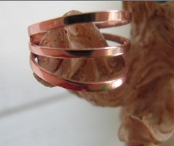 Adjustable Copper Ring 1091D2