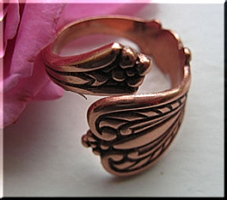 Adjustable Copper Ring 1795C2