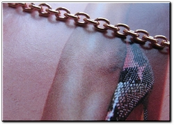 Solid Copper Anklet CA616G - 1/8 of an inch wide - Available in 8 to 12 inch lengths