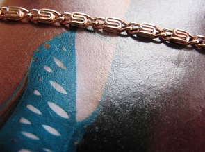Solid Copper Anklet CA620G - 1/8 inch wide - Available in 8 to 12 inch lengths.
