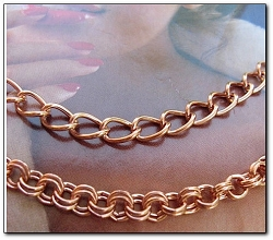 Solid Copper Chain Set #1-18 - 18 Inch CN500D5 and 22 Inch CN656G