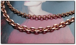 Solid Copper Chain Set #3  -18 Inch CN663G and 22 Inch CN691G