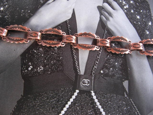 Solid Copper 7 Inch Bracelet CB5375C - 1/2 an inch wide