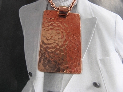 Copper Pendant and Chain Set #625AR