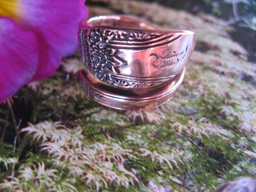 Adjustable Copper Ring CTR827