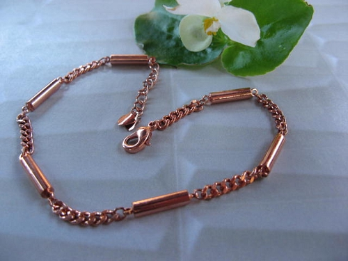 Solid Copper 7 1/2 Inch Magnetic Bracelet CBM23 - 1/8 of an inch wide
