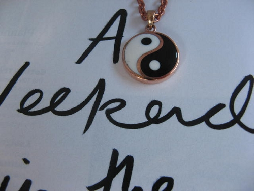 Solid Copper Yin Yang Pendant #CPY020