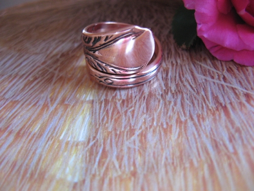 Adjustable Copper Ring CTR826
